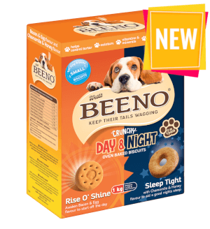 BEENO Day & Night Bacon & Egg & Honey & Chamomile 1KG Small
