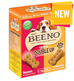 BEENO Double Up Bacon & Cheese 1KG Large