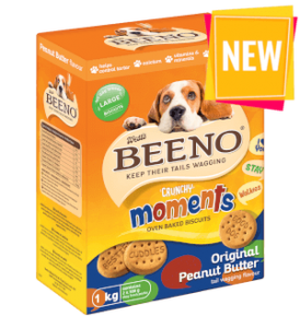 BEENO Moments Peanut Butter 1KG Large