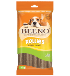 Beeno Rollies Lite Low Fat 120g