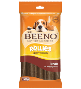 Beeno Rollies Steak 120g