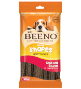 Beeno Shapes Smoked Bacon 120g