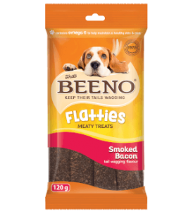 Beeno Flatties Smoked Bacon 120g