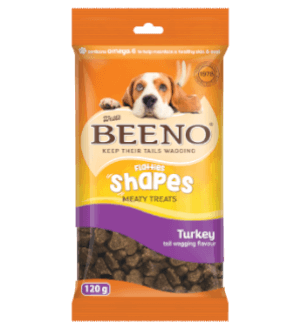 Beeno Shapes Turkey 120g