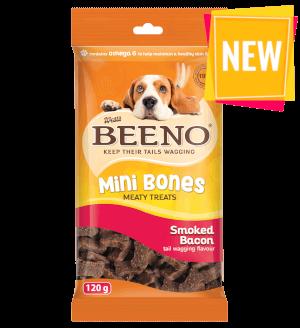 BEENO Mini Bones Smoked Bacon 120g