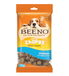 Beeno Shapes Chicken 120g